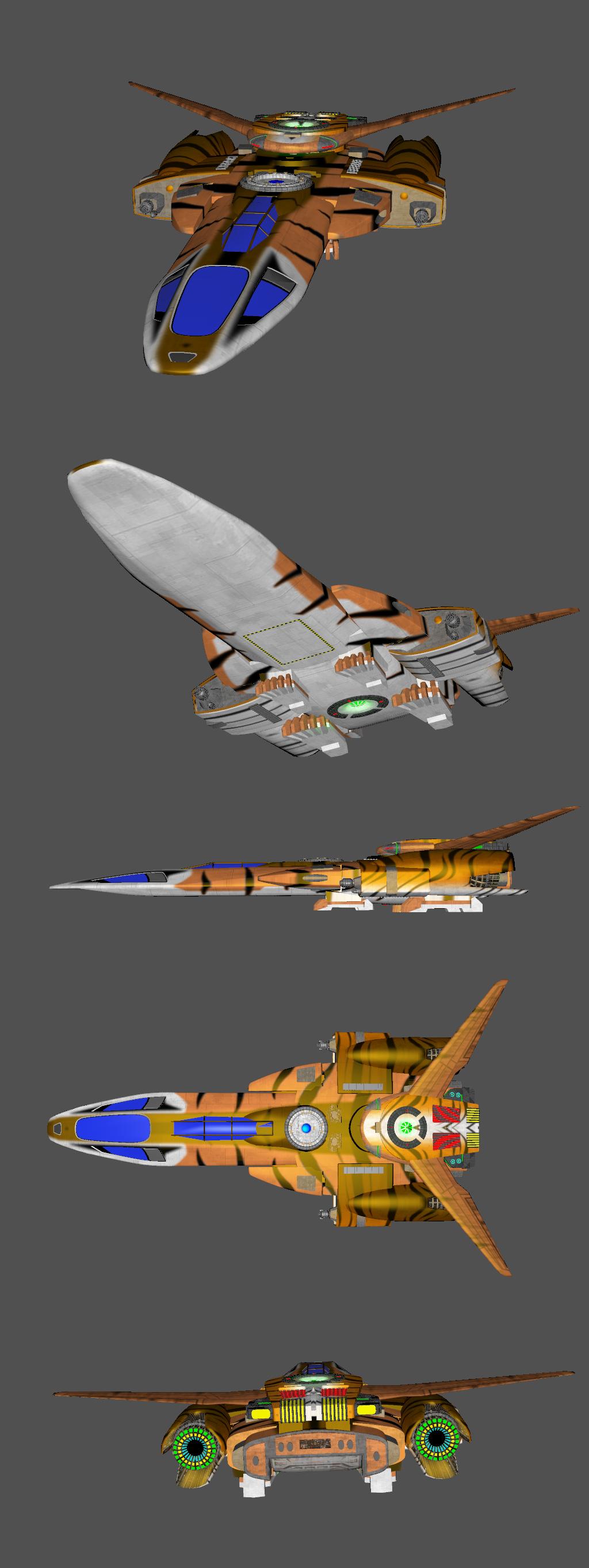 Chirr't'thar Tiger-type fast shuttle