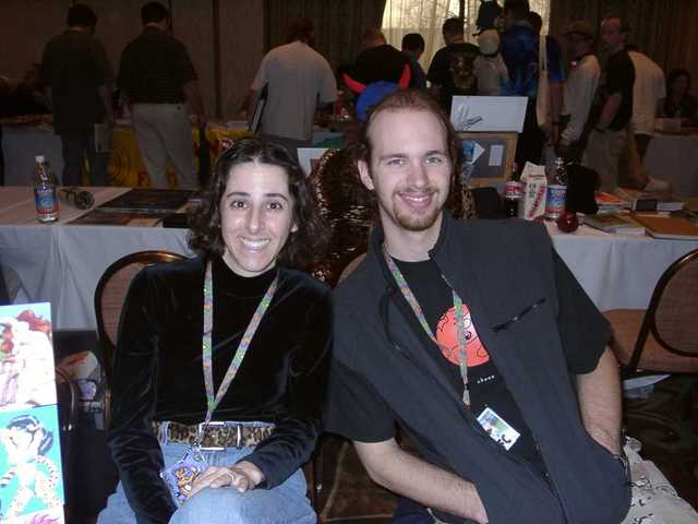 XianJaguar and Andy, all smiles! (FC2003)