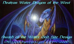 Award of the Water God